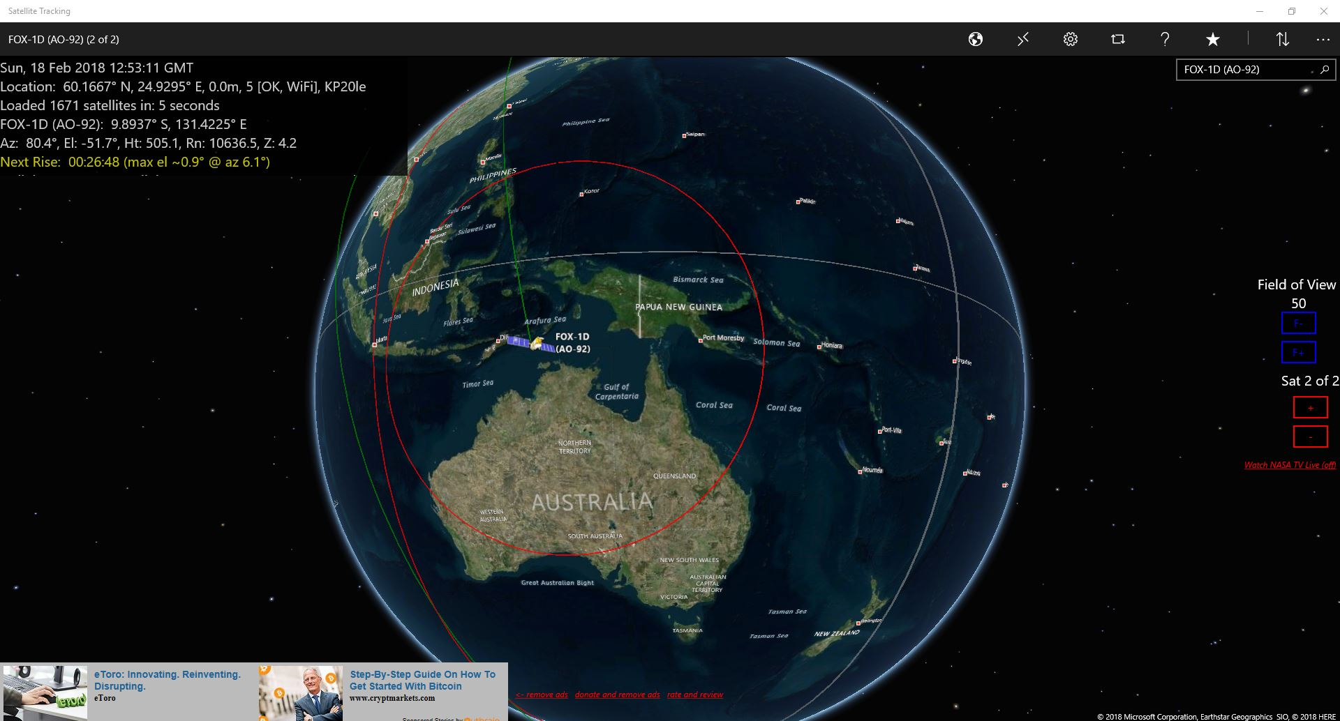 Satellite tracking karhukoti iss tracker gumiabroncs Choice Image